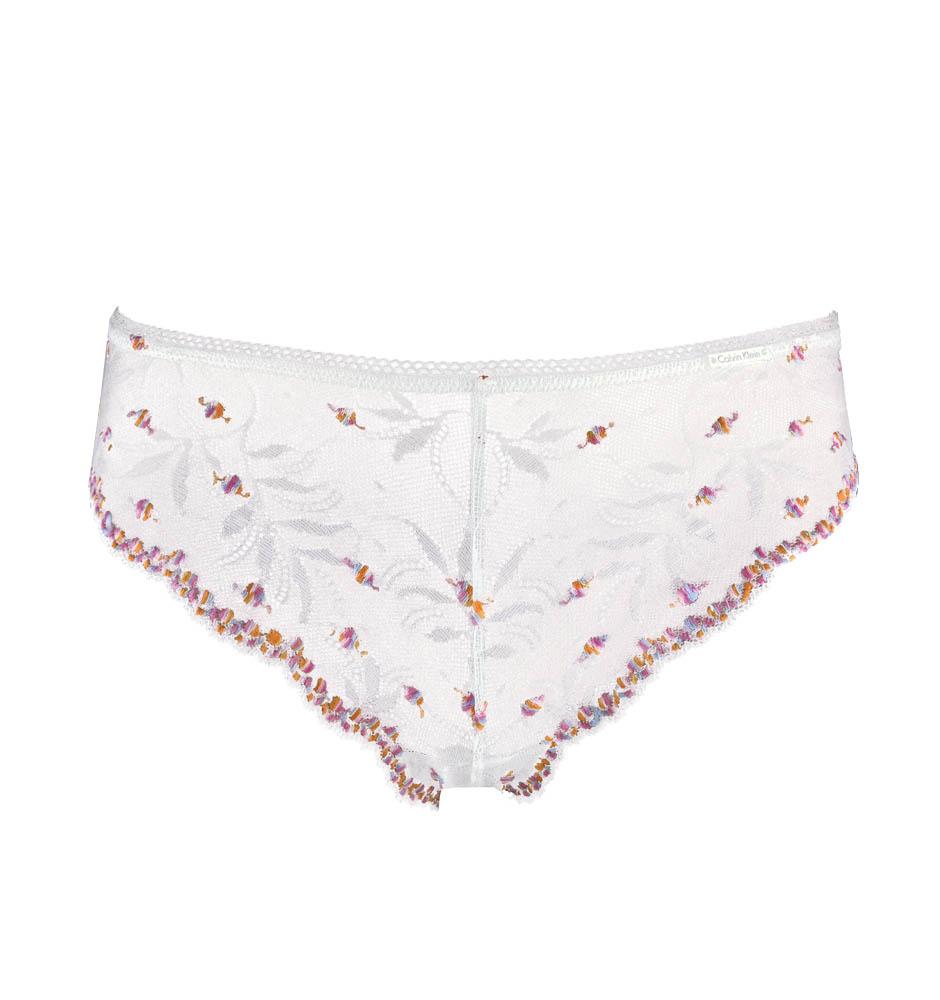 CALVIN KLEIN - Romantic ivory nohavičky-L