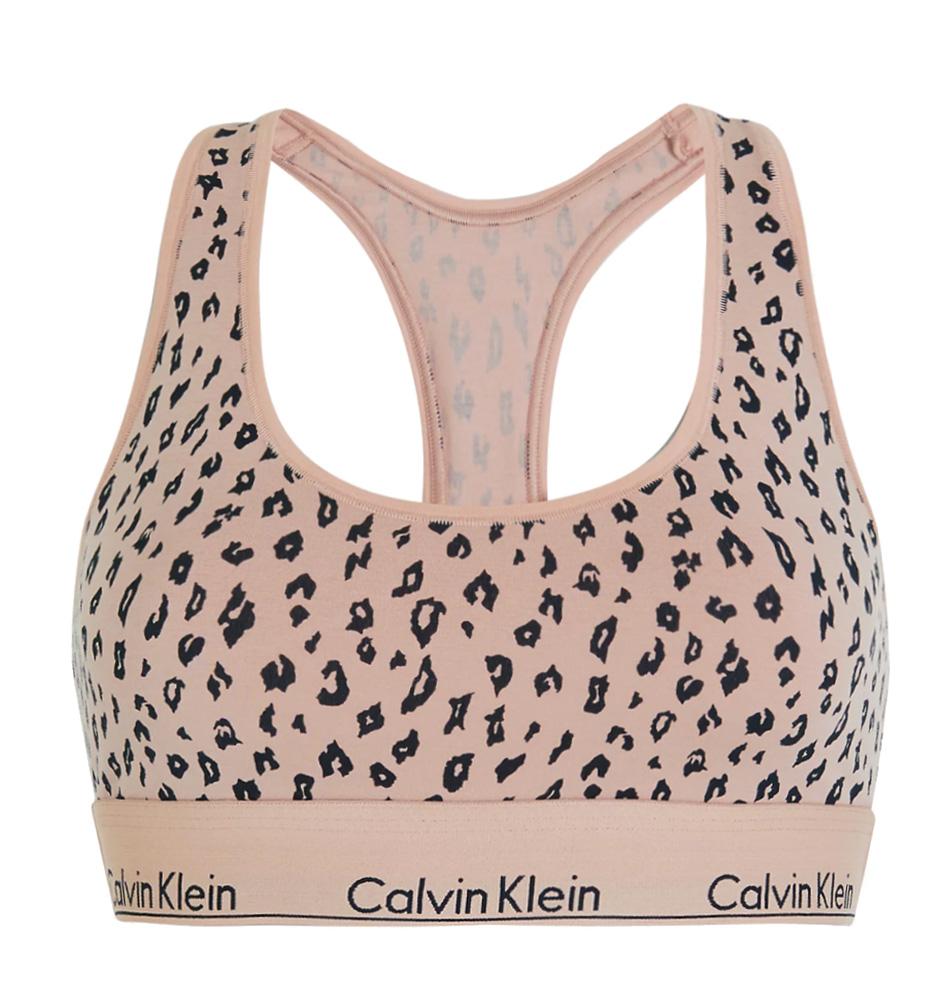 CALVIN KLEIN - Modern cotton savannah bralette - special limited edition-XS