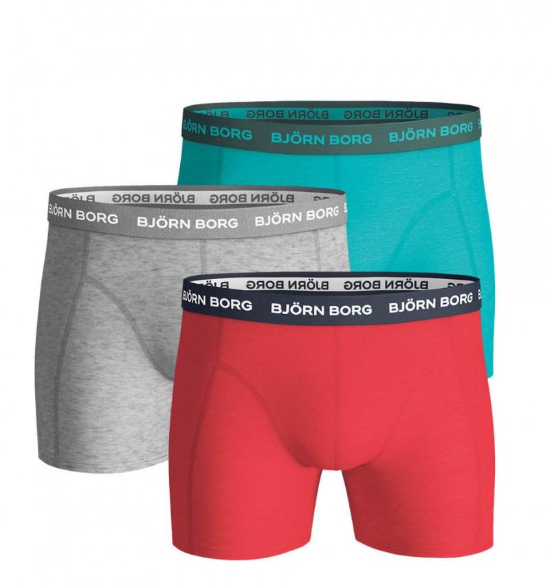 BJÖRN BORG - 3PACK Sammy ceramic color boxerky