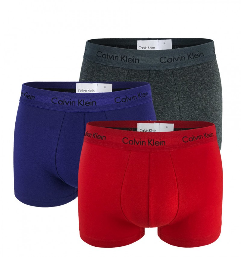 CALVIN KLEIN - 3PACK Cotton stretch fashion boxerky