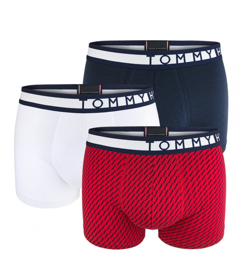 TOMMY HILFIGER - 3PACK premium inverted print boxerky