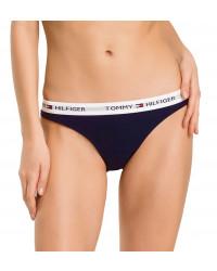 TOMMY HILFIGER - Iconic cotton tmavomodré bikiniTOMMY HILFIGER - Iconic cotton tmavomodré bikini