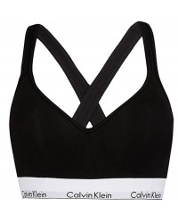 CALVIN KLEIN - Modern Cotton bralette lift čierna 1