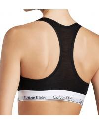 Calvin Klein - Bralette Cotton Stretch čierna