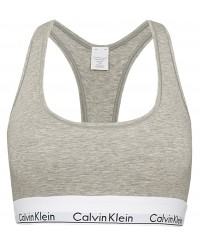 Calvin Klein - Bralette Cotton Stretch sivá
