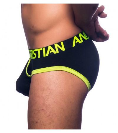 ANDREW CHRISTIAN - Almost naked retro čierne slipy