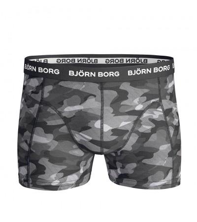 BJÖRN BORG - Black camo fashion boxerky