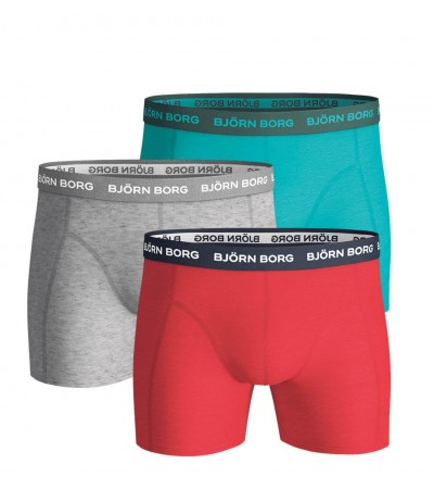 BJÖRN BORG - 3PACK Sammy ceramic color boxerky
