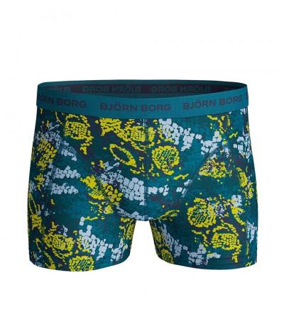 BJÖRN BORG - Poseidon zelené boxerky