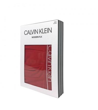CALVIN KLEIN - Modern FLX červené boxerky 1