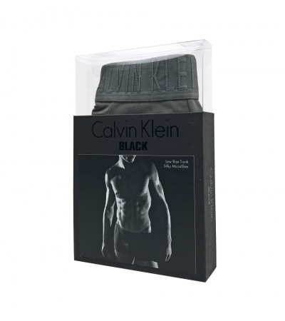 CALVIN KLEIN - CK BLACK - The luxury of black sivé boxerky