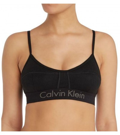 Calvin Klein - Body cotton unlined čierna braletka1
