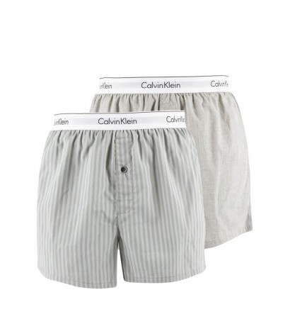 CALVIN KLEIN - 2PACK fashion gray slim fit trenky 1
