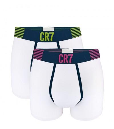 CRISTIANO RONALDO CR7 - 2PACK white boxerky