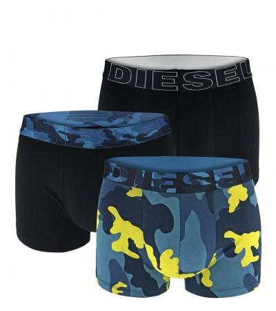 DIESEL - 3PACK Marine camouflage boxerky1