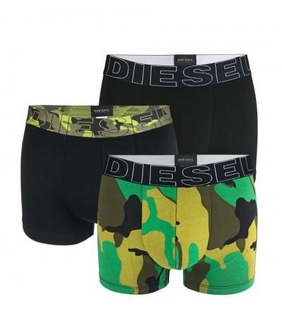 DIESEL - 3PACK Damien color army boxerky