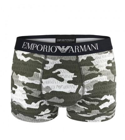 Emporio Armani camou antracite boxerky 1
