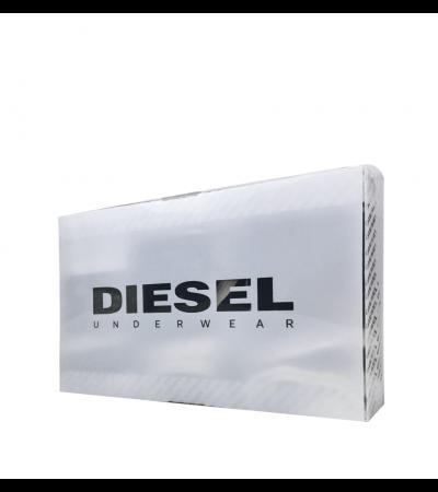 DIESEL - 3PACK čierne a sivé tangá