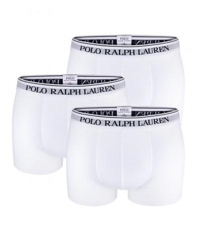 POLO RALPH LAUREN - 3PACK biele boxerky