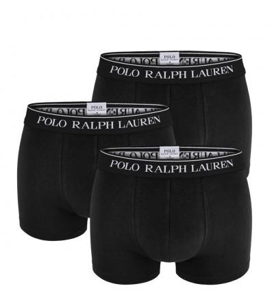 POLO RALPH LAUREN - 3PACK čierne boxerky