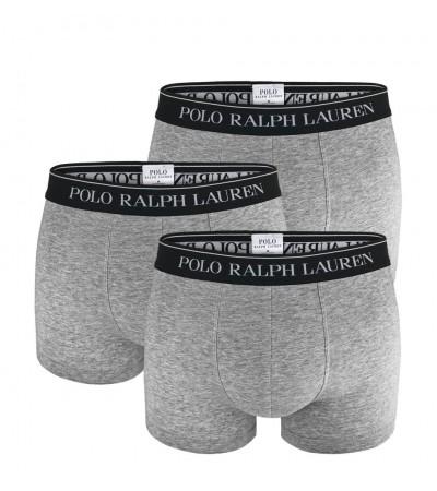 POLO RALPH LAUREN - 3PACK - sivé boxerky