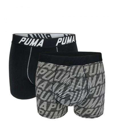 PUMA - 2PACK fashion optical gray boxerky