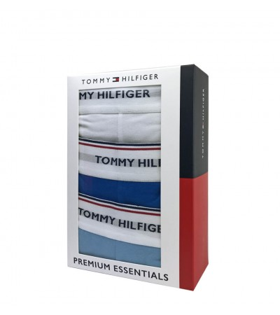 TOMMY HILFIGER - 3PACK Premium Essentials light blue boxerky