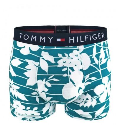 TOMMY HILFIGER - Tommy Original floral cyan boxerky