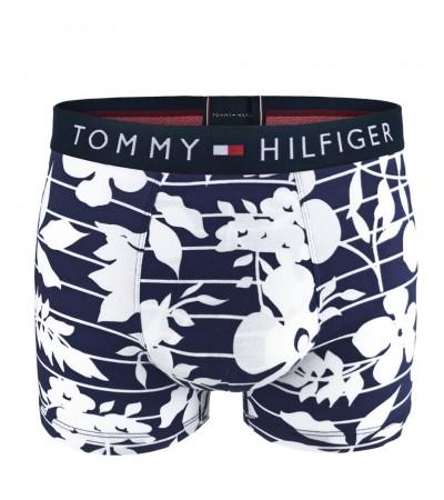 TOMMY HILFIGER - Tommy Original floral dark blue boxerky