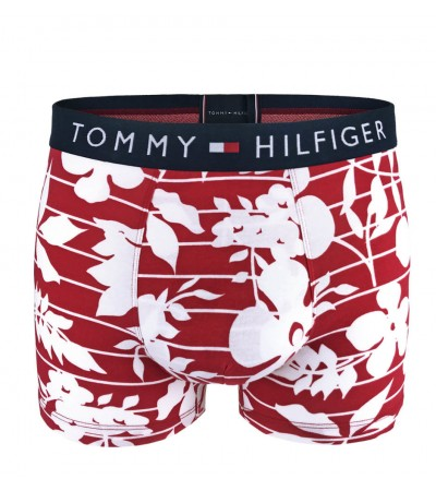 TOMMY HILFIGER - Tommy Original floral red boxerky