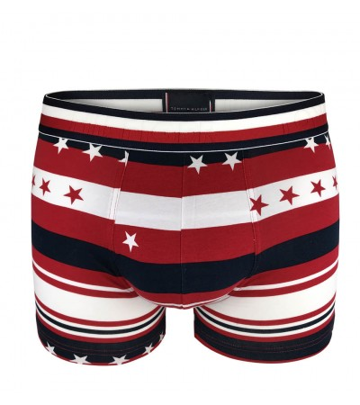TOMMY HILFIGER - Star stripe red boxerky