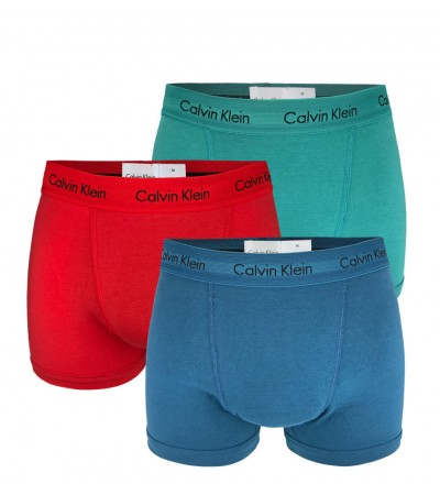 CALVIN KLEIN - 3PACK Cotton stretch classic multicolor boxerky