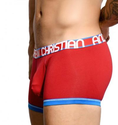 ANDREW CHRISTIAN - Almost naked cotton červené boxerky 1