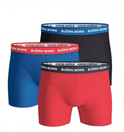 BJÖRN BORG - 3PACK color fashion boxerky