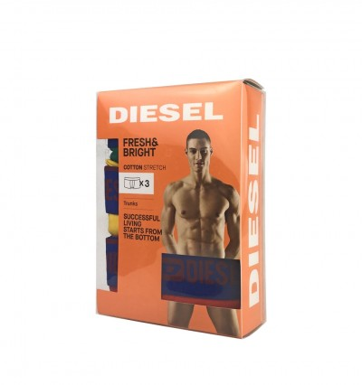 DIESEL - 3PACK Fresh & bright color boxerky1