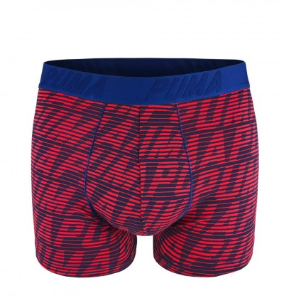PUMA - 2PACK fashion optical red & blue boxerky