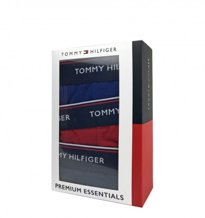 TOMMY HILFIGER - 3PACK Premium Essentials fashion color slipy