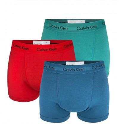 CALVIN KLEIN - 3PACK Cotton stretch classic multicolor boxerky