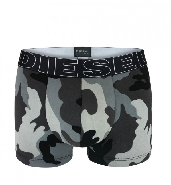 DIESEL - 3PACK Army gray camo boxerky