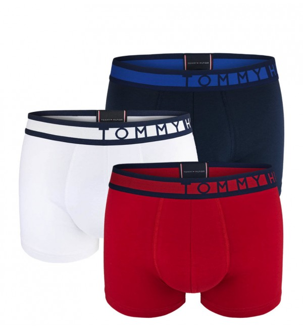 TOMMY HILFIGER - 3PACK premium inverted logo boxerky