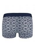 EMPORIO ARMANI - stretch cotton bluette boxerky 3